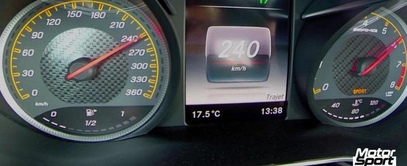 0 - 260 kilometri pe ora la bordul noului Mercedes AMG GT S