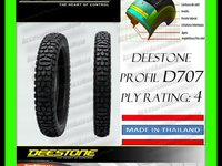 113 Lei ANVELOPA CAUCIUC 3 50 18 3 50x18 350 18 DEESTONE D707 PLY Rating 4 Tubeless Calitate Exceptionala MADE IN THAILAND Moto Scuter