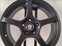 148 euro bucata- JANTA ALIAJ SPARCO RTT MATT BLACK 8x17 5x112