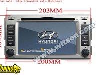1499 LEI! NAVIGATIE WITSON W2-D773Y SH DEDICATA HYUNDAI SANTA FE ELANTRA PLATFORMA S60 INTERNET 3G WIFI DVD GPS TV CARKIT COMENZI PE VOLAN CEL MAI VANDUT MODEL!