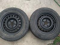 2 roti originale mercedes cu anvelope 195 65 r15