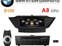 2999 LEI!!! NAVIGATIE DEDICATA BMW X1 E84 WITSON W2-C219 PLATFORMA S100 DVD GPS CARKIT SECOND HAND