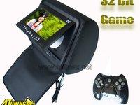475 Lei ! Tetiere NEGRE HIFIMAX Cu Dvd SONY Husa Usb Sd Divx Jocuri Modulator Fm Joystick Wireless model 2013
