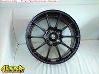 8.3 kg/janta !- Jante Sparco Model Asetto Garra matt black - 159 Euro Bucata-7x16 5x112-Et35