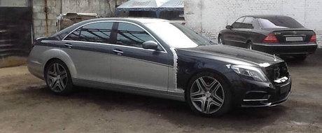 A taiat si sudat la vechiul sau Mercedes S-Class pana cand acesta a inceput sa semene cu noul model