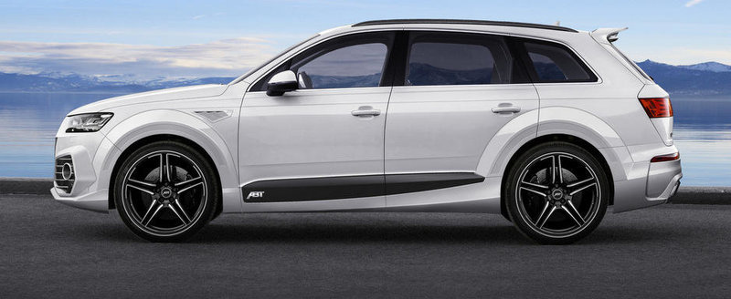 ABT Sportsline modifica radical noul Audi Q7