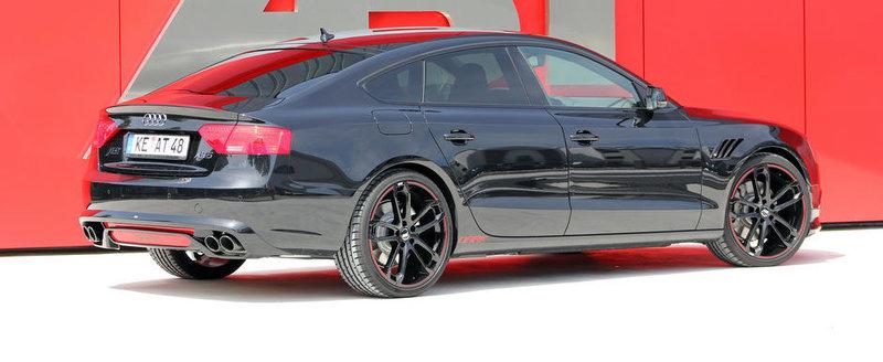 ABT Sportsline modifica un Audi A5 Sportback cu gandul la Batman