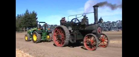 Aburi vs. motorina: ce tractor crezi ca este mai puternic?