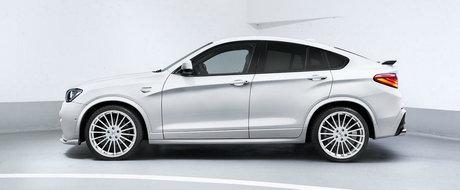 AC Schnitzer vine cu noi spoilere si 360 CP pentru BMW X4