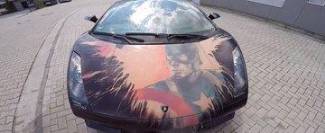 Acest Lamborghini 'Captain America' cu vopsea termo-sensibila este absolut demential