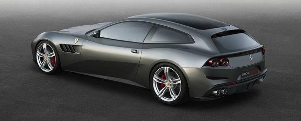 Adio FF, bun venit GTC4Lusso: Cum arata si ce poate cel mai nou shooting brake din gama Ferrari