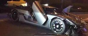 Adio, pretios Koenigsegg: Un Agera R e facut bucati in China