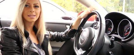 Adio scoala! Rose Marie si-a luat un Audi TT nou in doar 7 luni de Video Chat