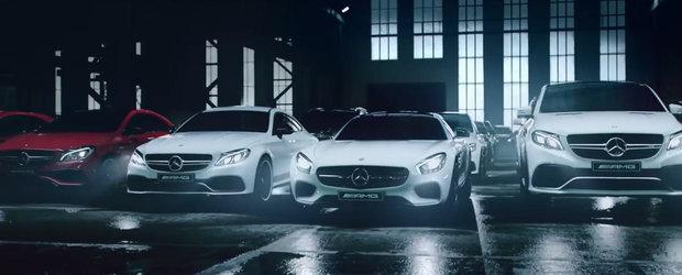 AICI sunt toate modelele Mercedes-AMG. Tu la volanul caruia te-ai vedea?