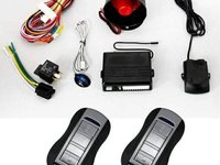 Alarma auto cu 2 telecomenzi