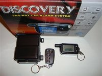 Alarma auto Discovery AS 500 cu pager