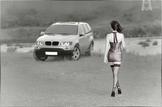 Alina Onisoru si BMW X5: Inger si Demon