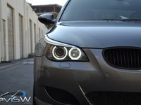 Angel Eyes BMW E60 E61 LCI Facelift Halogen LED Marker 20W CREE LED