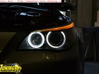 Angel Eyes Bmw e60 LCI dupa 2007 Led Marker H8 120w