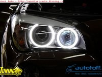ANGEL EYES BMW X1 E84 putere 120watts - LED MARKER H8 BMW X1 !