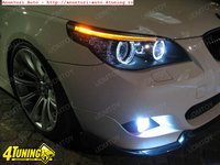 Angel eyes E60 Led Marker 10w 800 Lumeni Bmw E60 non facelift 2003-2007