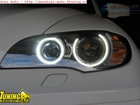 ANGEL EYES H8 BMW X6 - LED MARKER 40W H8 BMW X6 E71 SUPER BRIGHT !