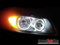 Angel Eyes LED BMW E90 E91 Fara Lupa