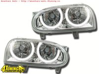 ANGEL EYES VW GOLF 3 CROM SAU BLACK IMPORT GK GERMANIA