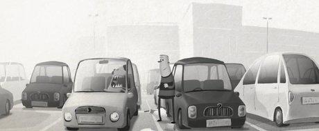 Animatia saptamanii: ce se intampla intr-o parcare de supermarket