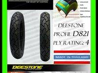 ANVELOPA CAUCIUC 120 70 10 120x70x10 120 70 10 DEESTONE D821 Calitate THAILAND Moto Scuter