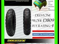 ANVELOPA CAUCIUC 2.25-17 2 1/4-17 DEESTONE D809 Tubeless Calitate Exceptionala THAILAND Moto Scuter