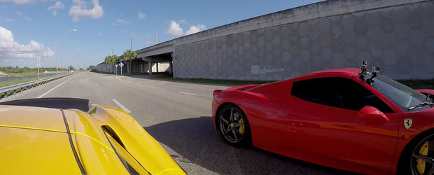 Aspirat vs. Turbo: Scurta liniuta intre Ferrari 458 si McLaren 650S