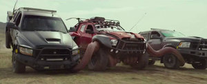 ASTA trebuie sa fie cel mai ciudat film cu masini. Cand se lanseaza... Monster Trucks