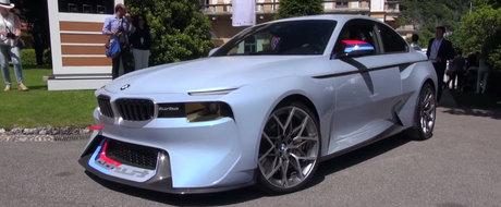 Astea sunt imaginile pe care vor sa le vada toti fanii BMW. Uite cum arata in realitate noul 2002 Hommage!