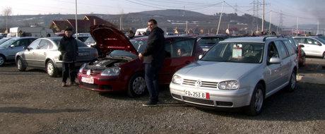 Atentie la tepele cu masini second-hand Volkswagen, Audi si Skoda din targurile auto!