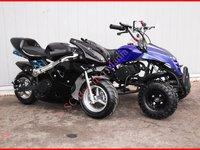 ATV BEMIRO mini ATV si mini MOTO Paket BONUS cu livrare GRATIS