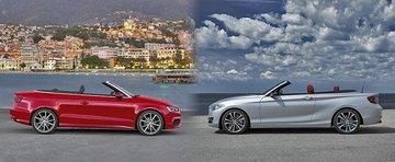 Audi A3 Cabriolet vs BMW Seria 2 Convertible: Ce alegi si de ce?