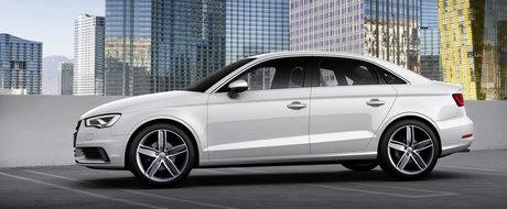 Audi A3 sedan prezentat la New York
