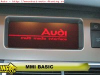 Audi A4 NAVIGATIE GPS CD MMI BASIC FULL ROMANIA 2015