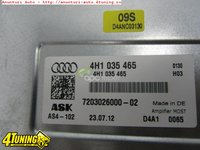Audi A8 S8 4H Sistem Complet B O Original