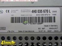 Audi multimedia DVD navigatie mare Audi A8 S8 4H original