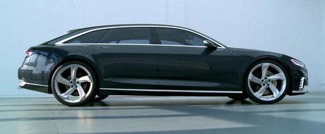 Audi Prologue Avant ne bucura (din nou) privirile cu liniie si formele sale