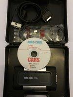 Autocom 2014 Cars &Trucks Tester multimarca cu cabluri incluse turisme sau camioane