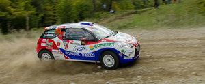 Bacau Rally Team, podium in fata propriilor suporteri!
