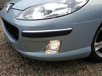 Bara fata completa cu proiectoare si grila Peugeot 407