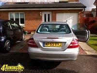 Bara Spate Mercedes C209 CLK 270 CDi Argintie cu gauri pt senzori parcare