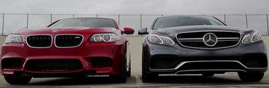 Batalia Super-Sedanurilor: BMW M5 Competition vs Mercedes E63 AMG S-Model