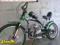 Bicicleta stil chopper
