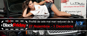 Black Friday de la KITT Romania cu reduceri incredibile!