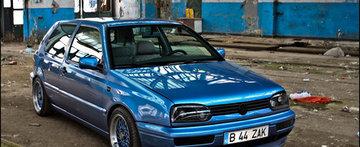 Blue Skies bring Tuning: VW Golf MK3 by ZAK